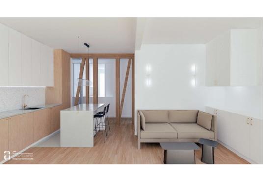 Studio rue Campagne Première