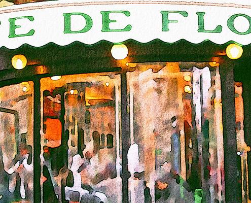 Le café de Flore à Paris - Mon Paris Immobilier