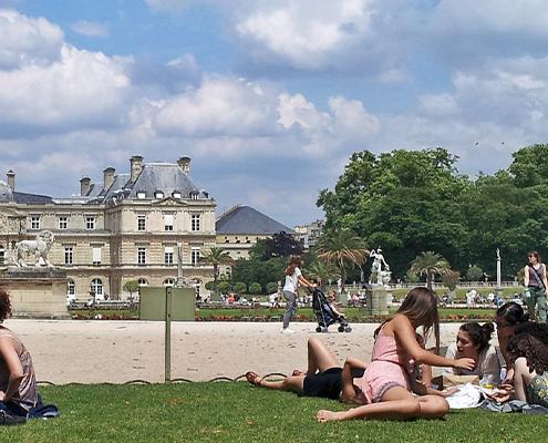 Vivre proche d'un espace vert à Paris - Le jardin du Luxembourg