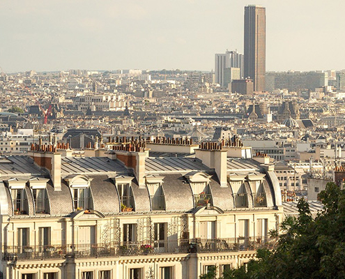 Quartier du montparnasse Paris